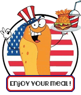 enjoy your meal, burger, frites, friet, shake
