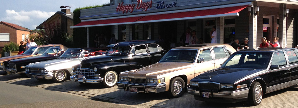 cadillac la salle club, happy days diner